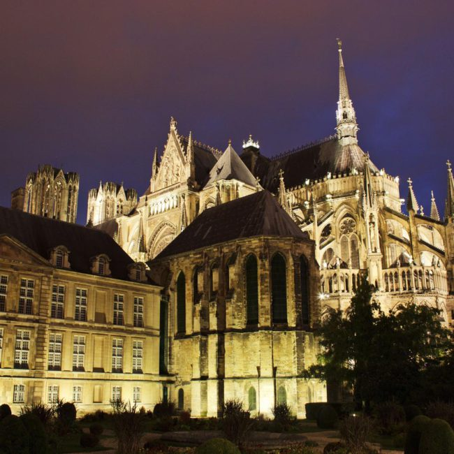 Cathédrale Notre-Dame Reims Hotel Luxe champagne